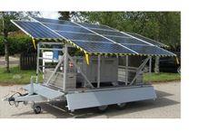Bluebox - Model 1800 UF SOLAR - Solar Powered Water Purification System