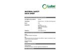 Lubetech - 69-2000 - Maintenance Black Gold Socks – MSDS