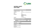 Lubetech - 69-3000 - Oil White Gold Socks – MSDS