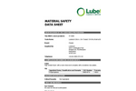 Classic - 57-3008 - Oil-Only Marine Boom – MSDS