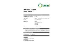 Black & White - 07-1120 - 120 Litre Chemical Spill Response Kit – MSDS