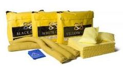 Yellow Gold - Model 08-1050 - 50 Litre Chemical Spill Kit - Holdall