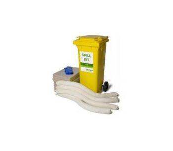 Cotton - Model 29-1120 - 100 Litre Oil-Only Spill Kit - Mobile 2 Wheeled Bin