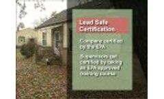 Lead-Safe Certified Remodeling with Dean Johnson Video