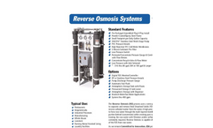 Reverse Osmosis Systems- Brochure
