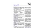 Raven - 400 - Ultra High Build Epoxy Coating Datasheet