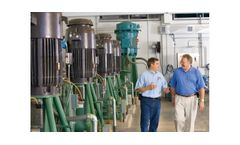 Innovative Water Pump Station Saves Energy