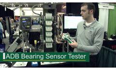 4B ADB Bearing Sensor Tester - Demonstration at GEAPS - Videos