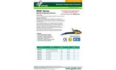 WDB1 Series Bearing Temperature Sensors - Datasheet