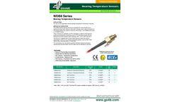 WDB8 Series Bearing Temperature Sensors - Datasheet