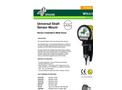 Whirligig - Universal Shaft Sensor Mount - Datasheet