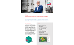 iNoise - Noise Prediction for Industry and Wind Turbines Software - Brochure