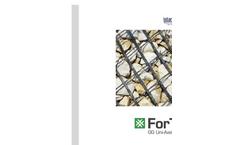 Fortex - Model GG - Uni-Axial Geogrid- Brochure