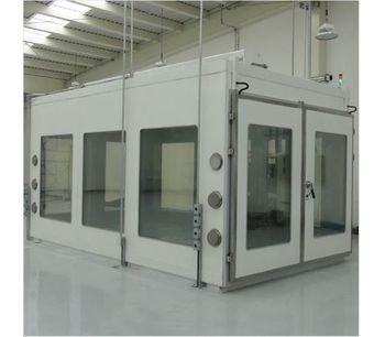 Model LRHS-28m3-BRS - Walk-in Temeprature Chamber