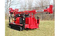 Mobile Drill - Model B48 - Hydraulic Drill