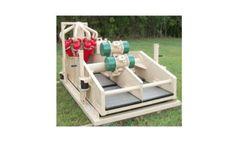 Model MTLS3P - 3 Panel Split Shaker