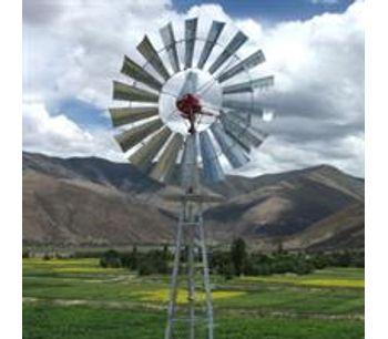Water Pumping Windmills