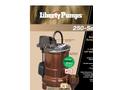 Model 250-Series - 1/3 hp Cast Iron Submersible Sump/Effluent Pump Brochure