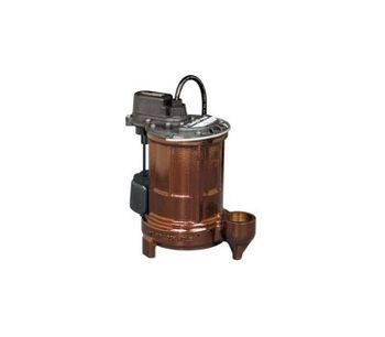 Liberty Pumps - Model 250-Series - 1/3 hp Cast Iron Submersible Sump/Effluent Pump