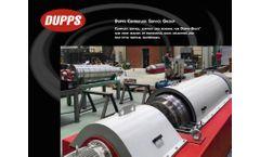 Dupps - Centrifuge Service Group - Brochure
