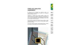 Feed Gas Analysis Equipment Brochure