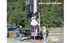 Meet the super fast SDC-450 full-capacity sonic drill! - Video