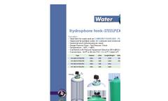 Steelpex - Hydrophore Tank - Datasheet