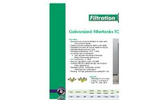 Lorivan - Model Top - Galvanized Filtertanks - Datasheet