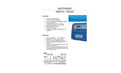Model MSB pH-Rx - Professional Digital Microprocessor Based Instrument Brochure