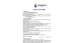 Wastewater Treatment for Industrial Operations - General Blend Microbes - SDS