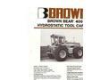 Brown Bear - Model 400 - Hydrostatic Tractor Brochure