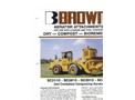 Brown Bear - Model SC3110 - SC3610 - SC3912 - SC4912 - Self Contained Composting Aerators- Brochure