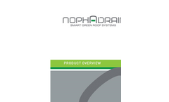 Nophadrain - Extensive Green Roof System - Brochure