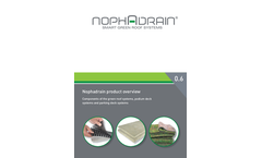 Nophadrain - Model ND 200 / ND 220 - Drainage System Brochure