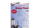 WEBTROL - Model V Series - Effluent Pumps Brochure