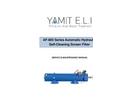 Yamit - Model AF-800 - Automatic Hydraulic Suction Scanner Filters - Manual