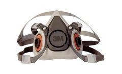 3M - Model 6100/07024(AAD) - Half Facepiece Reusable Respirator - Small 24 EA/Case