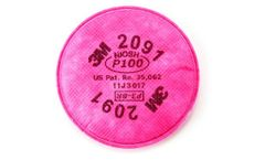 3M - Model 2091, P100 - Particulate Filter