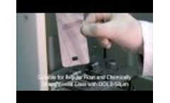 4JET Technologies GmbH - Laser Drilling and Cutting of Flat Panel Display Cover Lens Glass- Video