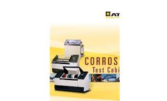Model CCX - Advanced Cyclic Corrosion Cabinet Datasheet