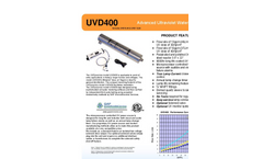 UVDynamics - UVD400 - Advanced Ultraviolet Water Disinfection Brochure