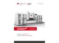 Ultago - Model NX - Turntable Machine Brochure