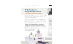 CF-DL Metallization Drying and Firing Furnaces Brochure