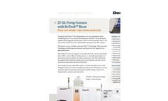CF-DL Firing Furnace With DriTech Dryer Specification Sheet