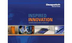 Despatch Industries Corporate Capabilities Brochure