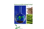 Environmental Microbiology Testing Services - Brochure