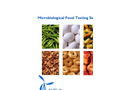 Food Safety & Testing Services - Brochure