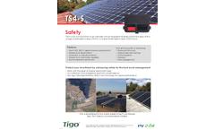 Model TS4-R-S - Safety Monitoring System - Datasheet