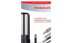 Accuracy of HygroClip2 Probes Brochure