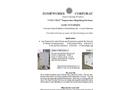 Zomeworks - Model 79054 - 4 BAT Tank Top Cool Cell Enclosure - Brochure